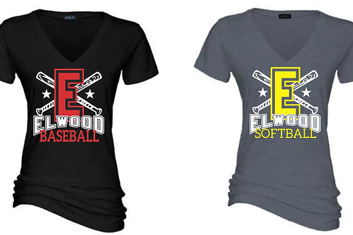 Design C - Ladies V neck
