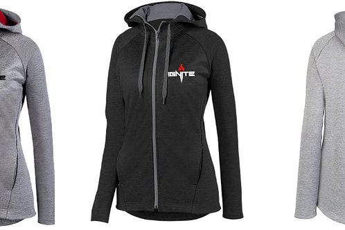 Ladies Full Zip Performance Hoody