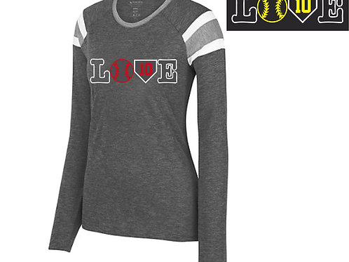 LOVE Design - Ladies Fanatic Long Sleeve