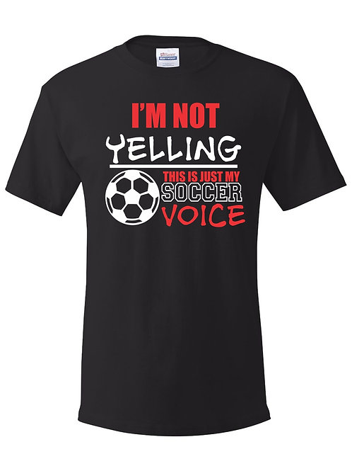 Not Yelling Design-Adult & Youth Dryblend T-shirt