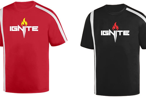 Performance Attack Tee Adult and Youth - Ignite Logo