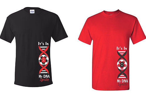 Adult & Youth Dryblend T-shirt- DNA Design
