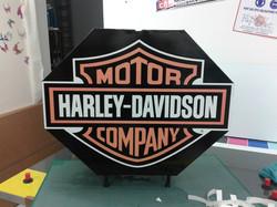 marquage harley davidson