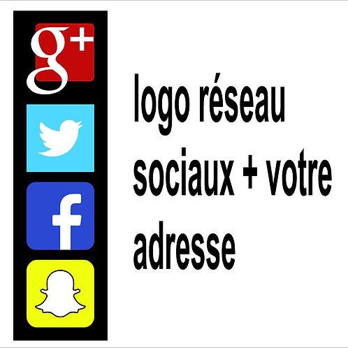 pictogramme reseau sociaux