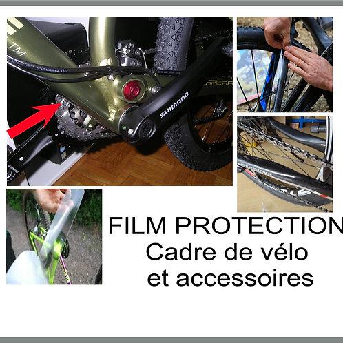 film protection cadres et accessoires vélo