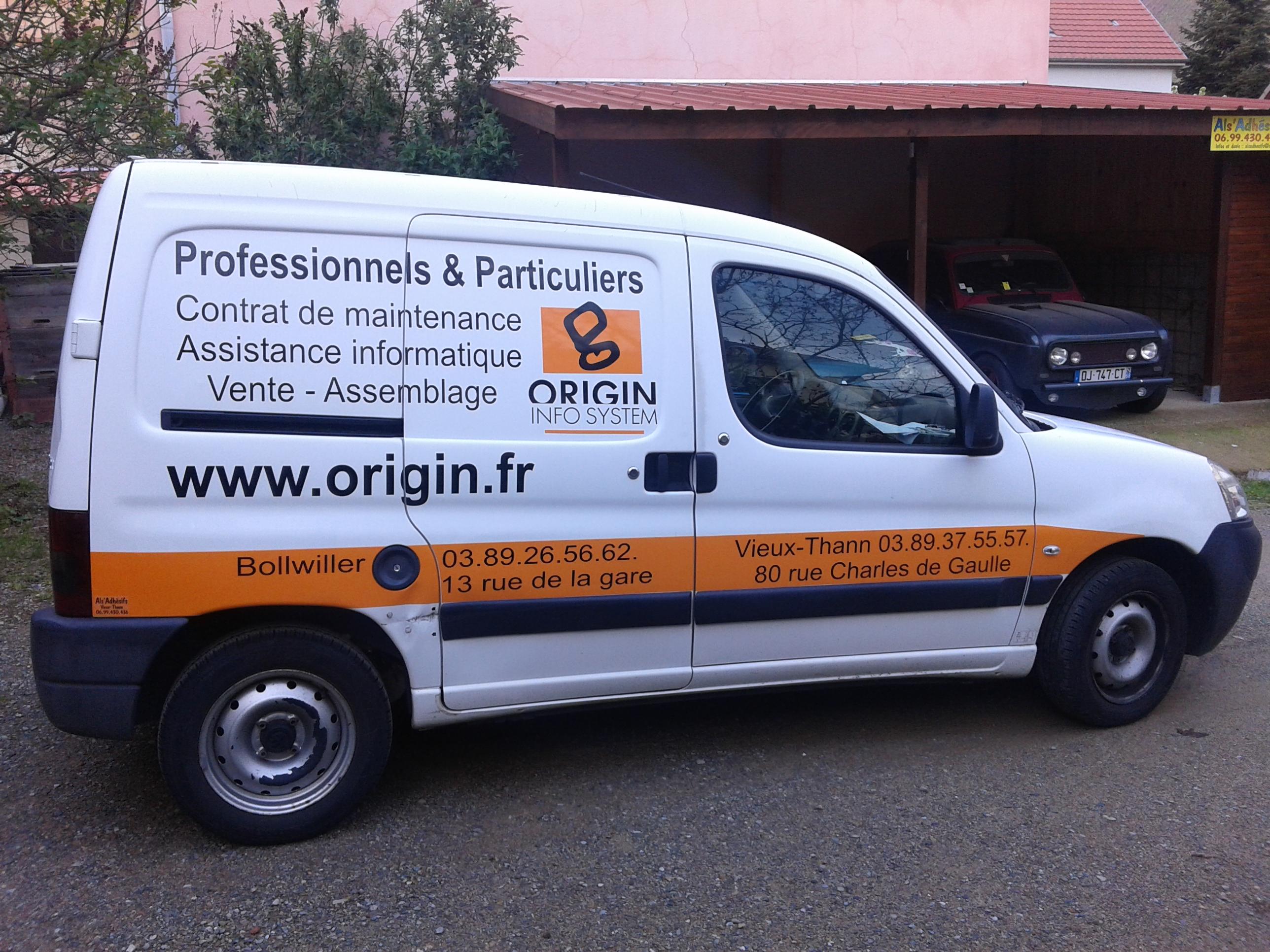 Partner Origin info system