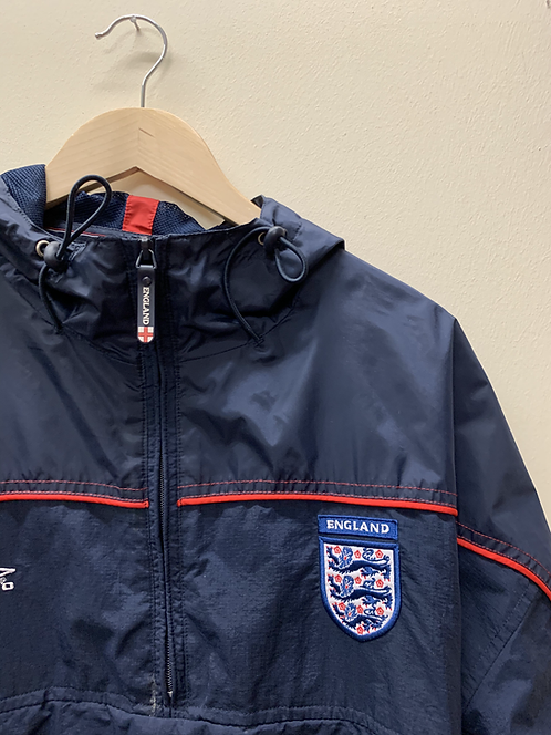 Reworked Umbro 1/4 zip jacket
