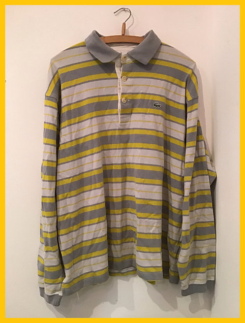 Striped Lacoste top
