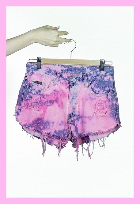 Tie Dye Calvin Klein Shorts