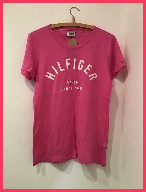 Pink Tommy Hilfiger t-shirt