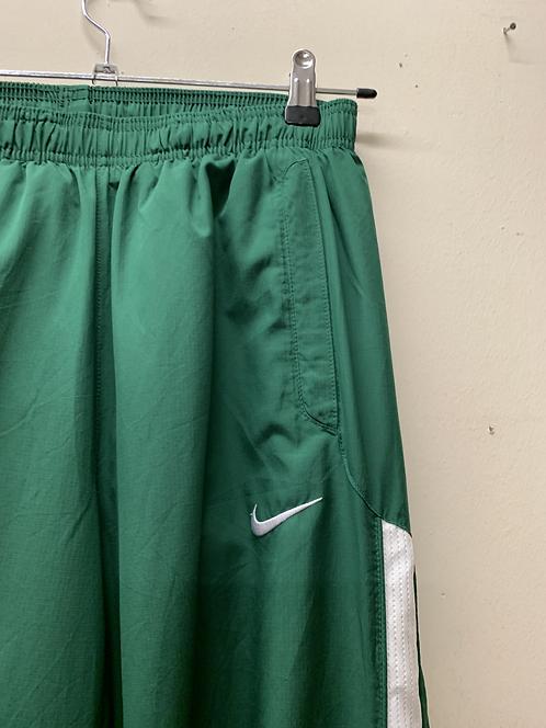 Green Nike joggers
