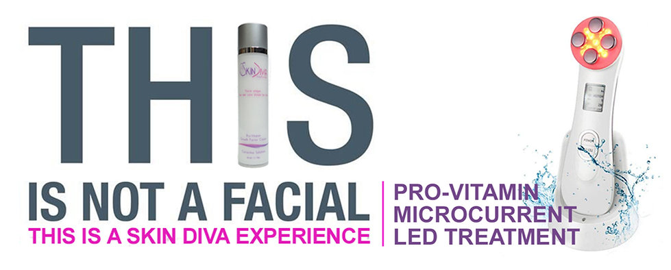 Microcurrent facial, LED facial, Radio Frequency, anti-aging, anti-wrinkle, firming, skin care