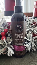 Earthly Body Hemp Seed Moisturizing Oil