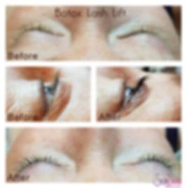 Botox Eye lash lift at skin diva studio in Courtice