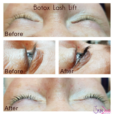 Eyelash Lift with Botox lash treatment