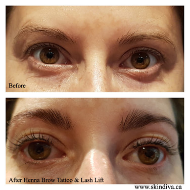 EyeLash Lift with Henna Brow Tinting