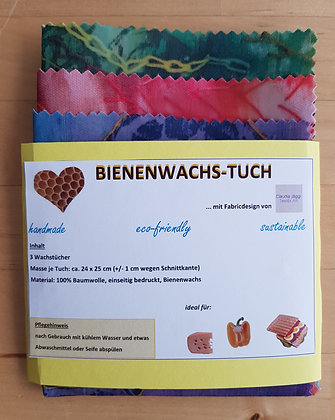 beeswax wrap 24 x 25 cm