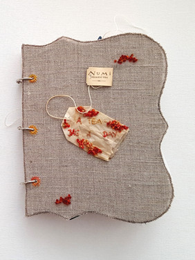 A teabag a day - project book (2017)