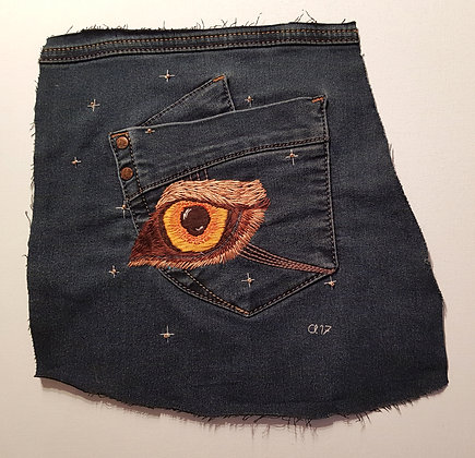 upcycled denim patch 5