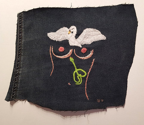 upcycled denim patch 4