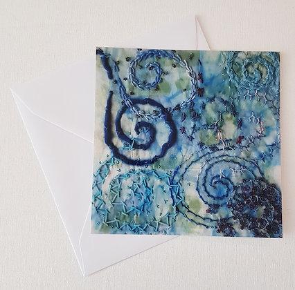 printed card