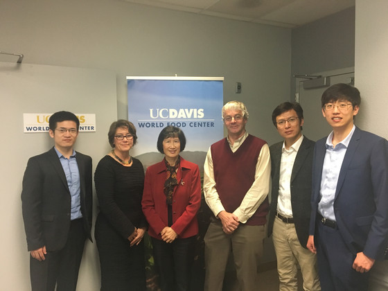 SUFAIC Visits UC Davis for Research and Aligns Collaboration