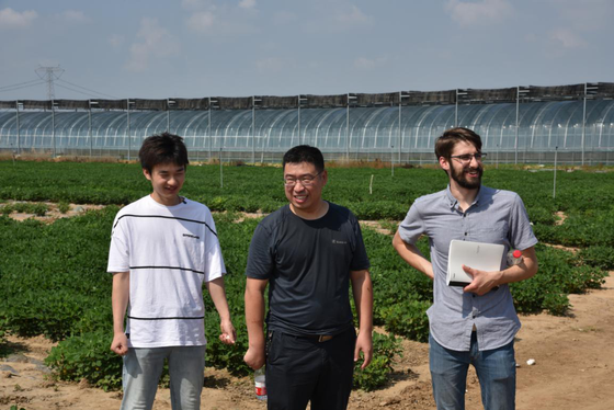 Tyler Barzee, a Ph.D. Candidate in Biological Systems Engineering, UC Davis, Visits SUFAIC