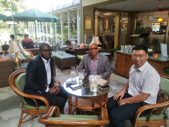Sino-US Food and Agriculture Innovation Center Talks with Nigerian Entrepreneurs in Beijing
