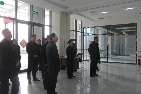 山东省财政厅领导到中美食品与农业创新中心调研