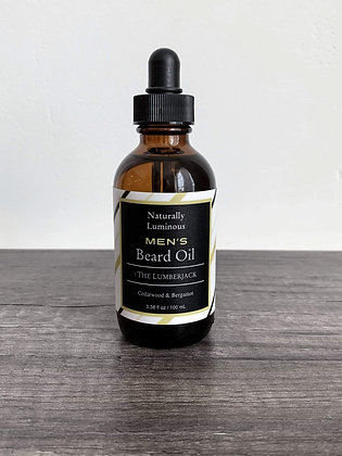 Men's Beard Oil : The Lumberjack (4 oz)
