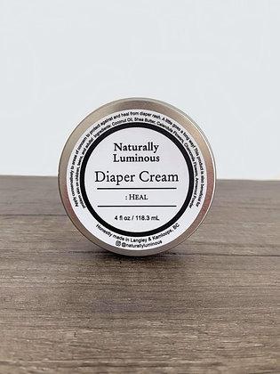Diaper Cream : Heal (4 oz)