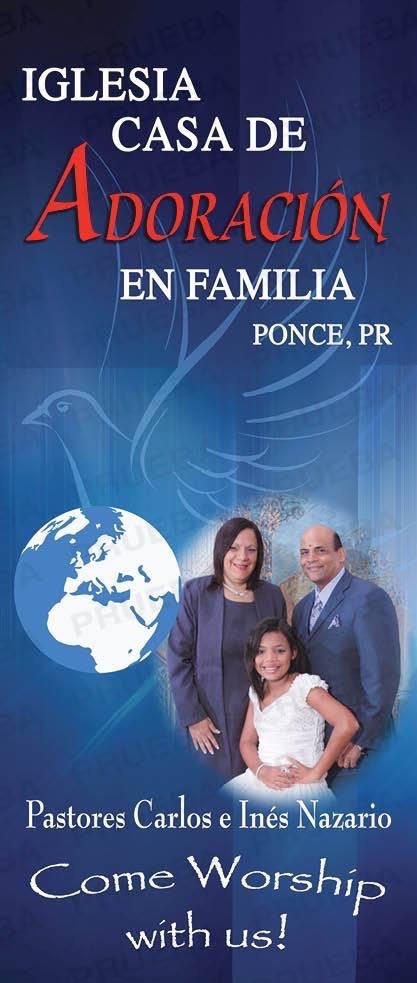 Iglesia Casa de Adoracion en Familia