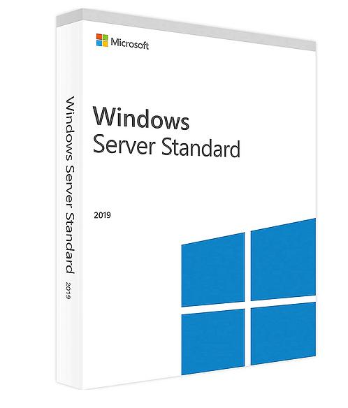 Licencia de Windows Server 2019 Standart con Medios