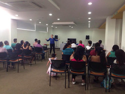 Predica en el Rio de Dios