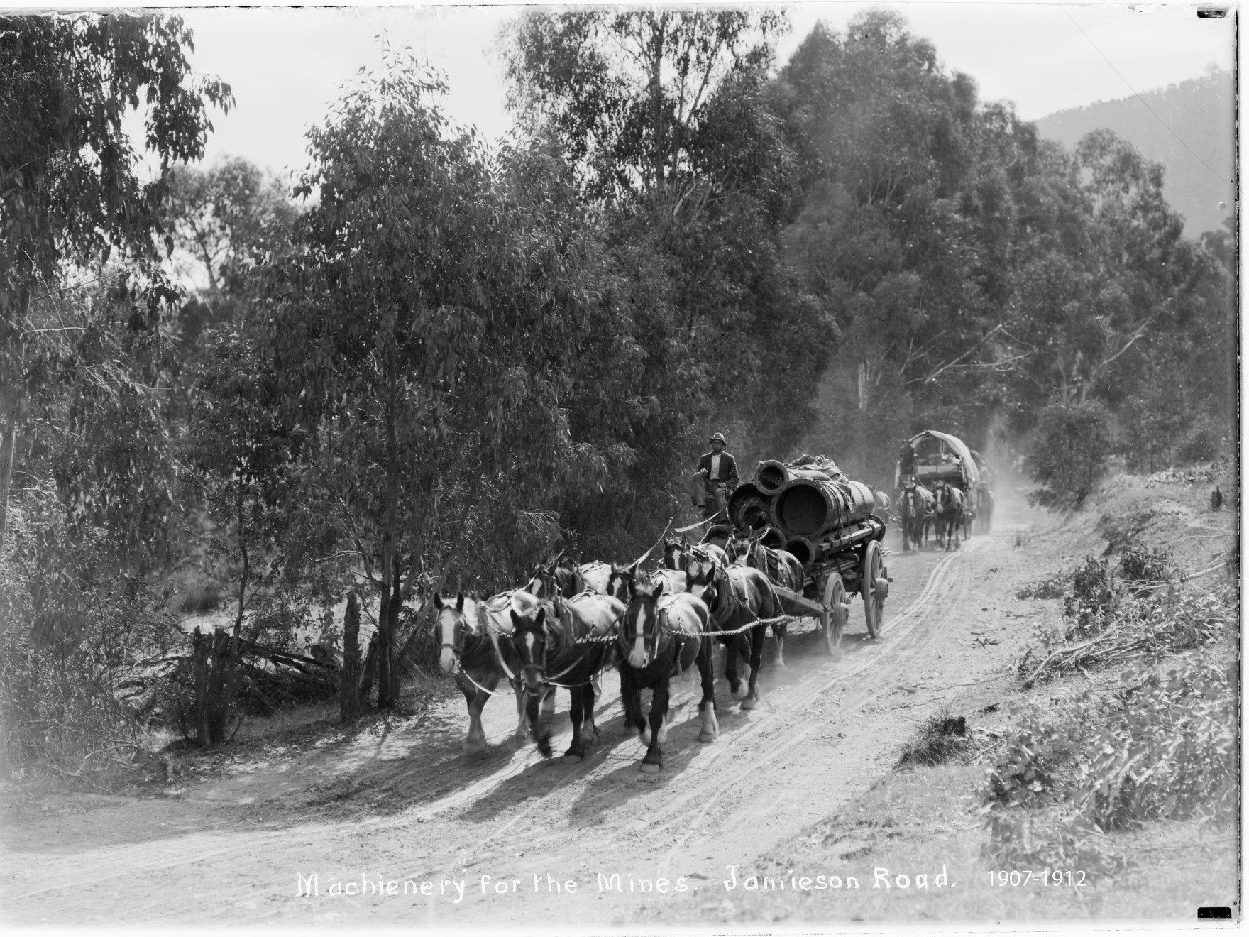 Cartage to mines 1907-1912