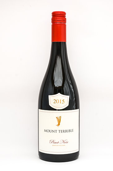 MOUNT TERRIBLE PINOT NOIR 2015 X 1/2 CASE (6 Bottles)