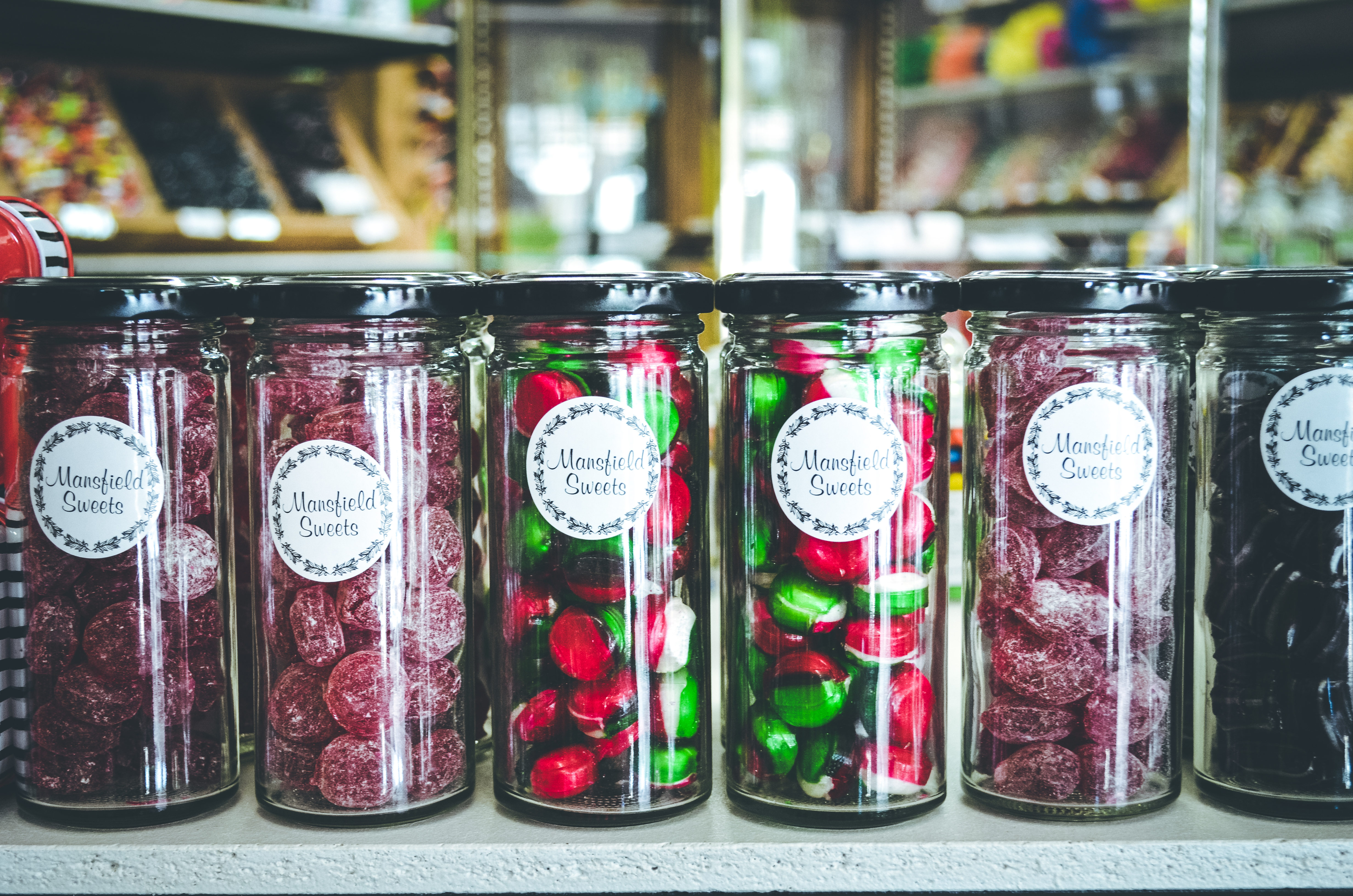 Boiled Sweets Jars