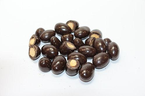 DARK CHOCOLATE SCORCHED ALMONDS