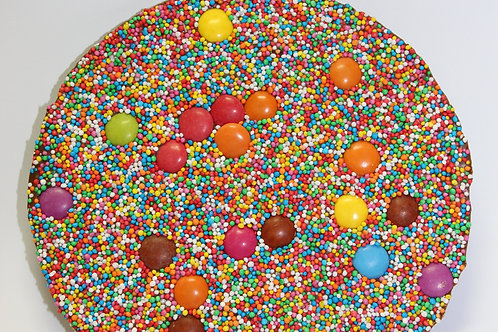 THE BIG ONE ~ MILK CHOCOLATE SPRECKLE WITH SMARTIES