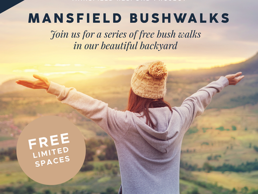 Join us for a FREE Bushwalk!