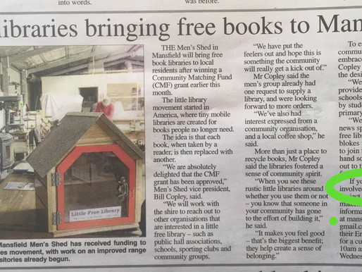 Little Libraries bringing FREE books to Mansfield