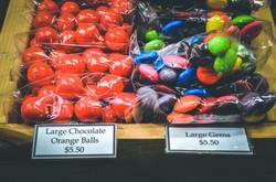 Large Chocolate Orange Balls