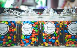 Mini M & M Jars