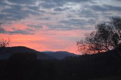 Sunset at Howqua Valley Resort