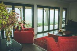 concertina doors to the verandah