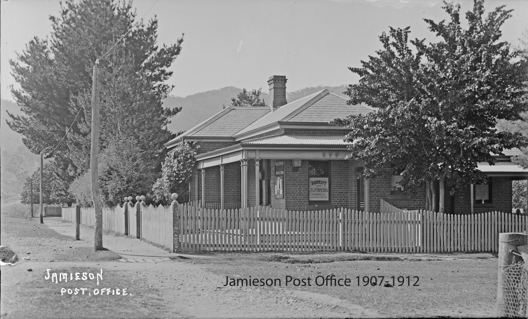 Post Office Jamieson 1907-1912
