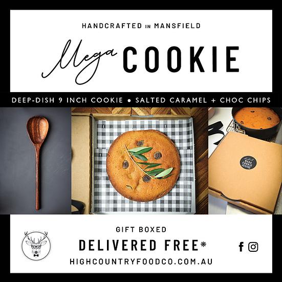 Mega Choc-Caramel Cookie