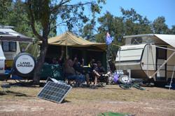 Happy Campers at Howqua Resort