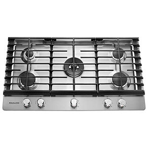 stainless-steel-kitchenaid-gas-cooktops-