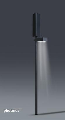 luminária solar aron photinus
